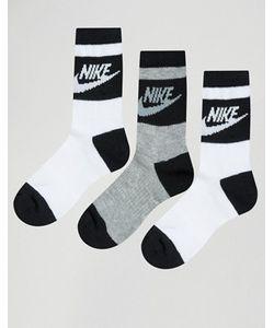 Nike | Набор Из 3 Пар Носков Белого И Серого Цвета