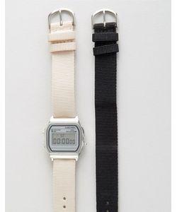 Asos | Цифровые Часы С 2-Мя Сменными Ремешками