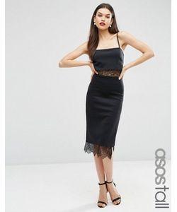 ASOS TALL   Платье С Кружевными Вставками