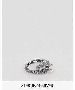 Asos | Серебряное Кольцо С Драконом