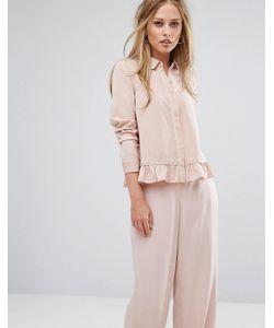 Y.A.S. | Рубашка С Оборкой По Нижнему Краю