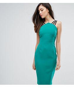 Vesper | Платье-Футляр С Бретельками И Молнией На Спине