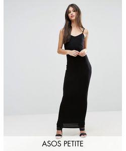 ASOS PETITE | Облегающее Платье Макси На Бретельках
