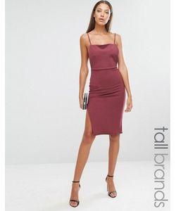 Missguided Tall | Платье Миди На Бретельках С Открытой Спиной