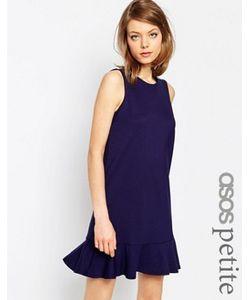 ASOS PETITE | Платье С Оборкой По Краю Из Плотной Ткани Понте