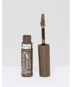 Rimmel London | Гель Для Бровей С Аргановым Маслом Rimmel Brow This Way