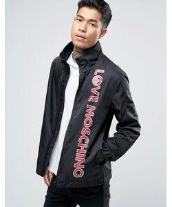 Love Moschino | Легкая Куртка Харрингтон С Принтом В Виде Текста