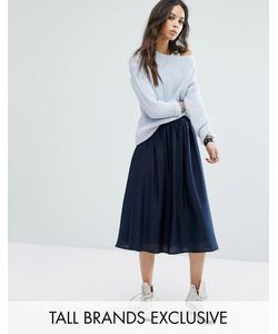 Noisy May Tall | Midi Skirt