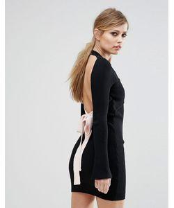 ASILIO | Платье С Открытой Спиной