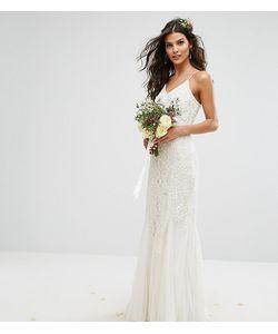 Amelia Rose   Платье Макси С Отделкой Bridal
