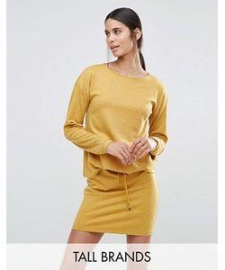 Vero Moda Tall | Свободное Трикотажное Платье