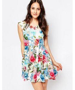 Jessica Wright | Короткое Приталенное Платье С Открытыми Плечами Amelia