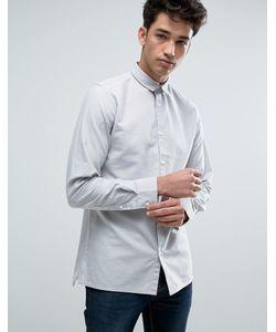 Jack & Jones | Узкая Оксфордская Рубашка С Длинными Рукавами Core