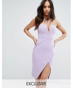 Rare | Платье-Футляр С Глубоким Вырезом London