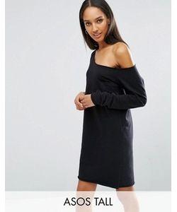 ASOS TALL   Трикотажное Платье С Открытыми Плечами