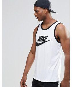 Nike | Белая Майка С Логотипом 779234-100
