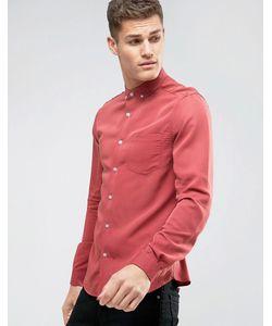 Asos | Рубашка Классического Кроя С Добавлением Вискозы