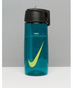 Nike Running | Water Bottle With Swoosh Logo In Teal Ob.A3393