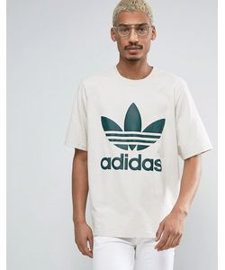 adidas Originals | Свободная Футболка С Логотипом-Трилистником Ac Bk7172