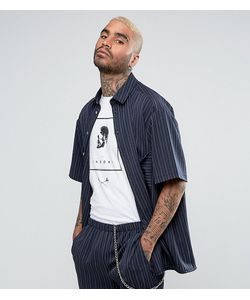 Reclaimed Vintage   Свободная Рубашка В Полоску Inspired