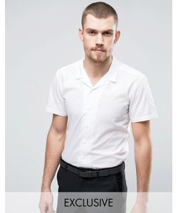 Hart Hollywood | Узкая Рубашка С Короткими Рукавами И Отложным Воротником