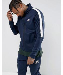 Nike | Темно-Синяя Спортивная Куртка Tribute 861648-451