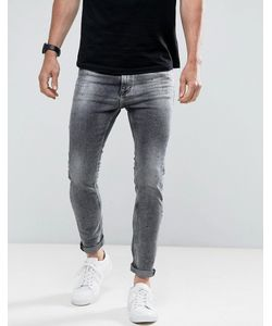 Calvin Klein Jeans   Джинсы Скинни С Эффектом Брызг