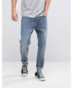 Rollas | Stubs Cropped Jeans Stoned Authentic Wash
