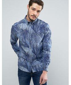 Wrangler | Рубашка Классического Кроя С Принтом Пальм