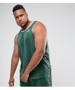 Puma | Зеленая Спортивная Майка В Стиле Ретро Plus Эксклюзивно Для