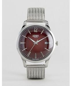 Henry London | Серебристые Часы С Сетчатым Браслетом Chancery