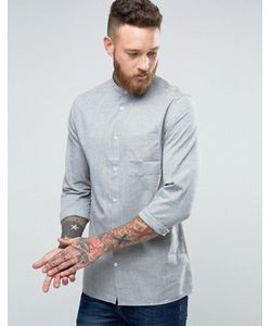 Hoxton Shirt Company | Льняная Рубашка Узкого Кроя