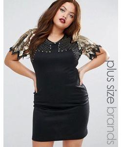 Praslin | Платье С Декорированным Топом Plus