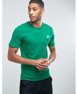 Nike | Зеленая Футболка С Вышитым Логотипом Futura 827021-302