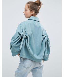 Asos | Куртка С Бантами На Спине