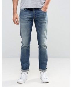 Nudie Jeans Co | Темные Узкие Джинсы С Эффектом Поношенности Nudie Grimtim
