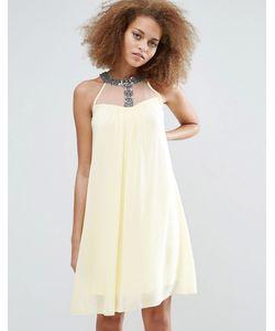 Little Mistress | Цельнокройное Платье С Отделкой