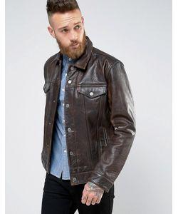 Levi's® | Кожаная Куртка Levis Buff Rustic