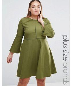 Praslin | Платье С Рукавом-Колокол Plus