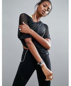 Nike | Топ С Сетчатыми Вставками
