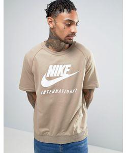 Nike | Свитшот С Короткими Рукавами International 834306-235