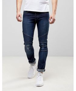 Loyalty & Faith | Loyalty And Faith Hayden Skinny Biker Jeans In Dark Wash