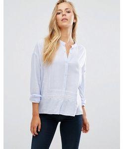 Maison Scotch | Легкая Рубашка С Вышивкой