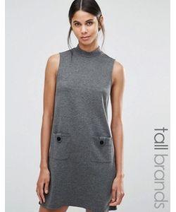 Vero Moda Tall | Свободное Платье С Высокой Горловиной