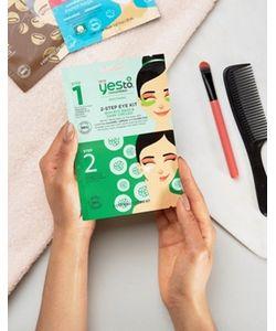YES TO | Набор С 2-Этапным Применением С Маской Для Кожи Вокруг Глаз Yes