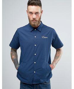 Edwin | Рубашка С Карманами И Короткими Рукавами