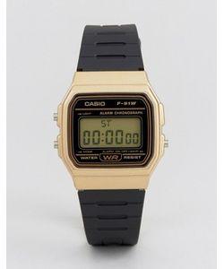 Casio | Цифровые Часы С Силиконовым Ремешком F91wm-9a