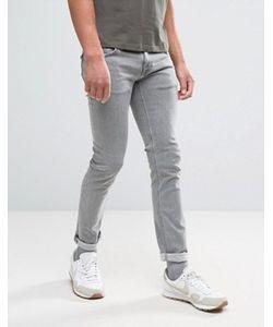 Nudie Jeans Co | Серые Обтягивающие Джинсы