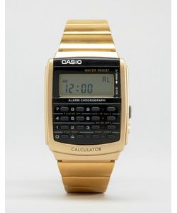 Casio | Черно-Золотистые Цифровые Часы