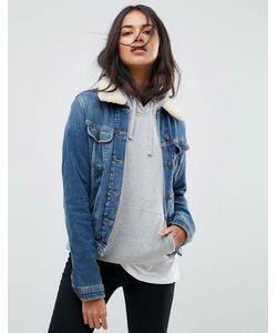 Lee | Джинсовая Куртка С Воротником Из Искусственного Меха